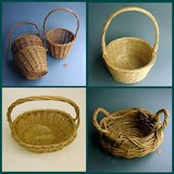 VINTAGE WILLOW / WICKER BASKETS W/ HANDLES in Glendale Heights, Illinois