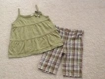 LIKE NEW 6X Summer Top & Shorts Set in Bolingbrook, Illinois