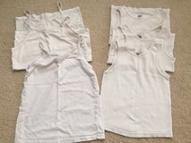 Girls 3 Small /3 Medium White Undershirts in Naperville, Illinois