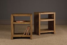 Wood bedside table bed side end night stand in Camp Lejeune, North Carolina