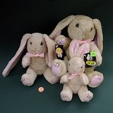 VTG LONG-EARED PLUSH RABBITS - SPRING DECOR, 3 sizes in Chicago, Illinois