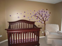 CRIB + MATTRESS + CONVERSION KIT in Joliet, Illinois