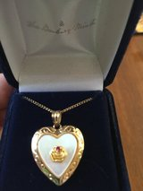 Heart with Ruby Necklace in Biloxi, Mississippi