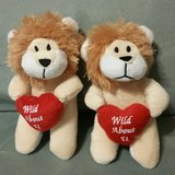 Valentine Set of 2 Lion Plushes in Columbus, Georgia