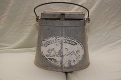 Vintage DELUXE Galvanized Metal Mop Bucket Wood Wringer in Fort Leonard Wood, Missouri