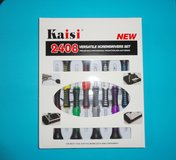 NEW gulu® kaisi 2408 - tools set - repair versatile screwdriver kit - new in box in Bolingbrook, Illinois