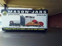 Un opened new Boxes of 12 Vintage Mason, Ball,  Golden Harvest Canning jars in Warner Robins, Georgia