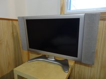 Sharp Very Good Condition 30'' LCD 720P TV , Made in Japan, Powerful Sound with remote control in Lockport, Illinois