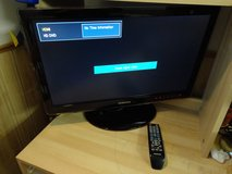 """SAMSUNG 24.6"""" 1080P TV and monitor 2 in1 Widescreen LCD Monitor Very Good Condition in Naperville, Illinois"""