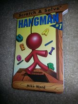 NEW Scratch & Solve Hangman book #1 in Camp Lejeune, North Carolina