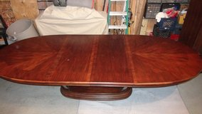 """Pedestal Dining Table - extends from 80"""" to 120""""s in Morris, Illinois"""