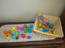 Assortment of 59 Plastic Easter Eggs~Reduced in Yorkville, Illinois
