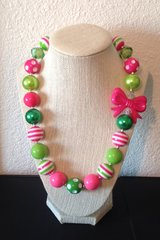 Pink & Green Gumball necklace in Vista, California