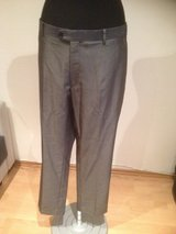 Gray Shiny Suit Trousers in Ramstein, Germany