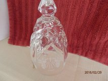 """Christmas Waterford Crystal Bell  Marked 1998  5.25"""" in Yorkville, Illinois"""