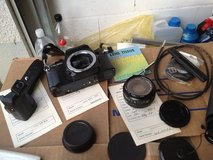 Ricoh 35mm Camera - (not digital) with accessaries in Ramstein, Germany