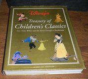 Disney's Treasury of Children's Classic LARGE Hardcover w/ Dustjacket Book in Kingwood, Texas