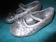 SILVER GLITTER SHOES     NEW in Cherry Point, North Carolina
