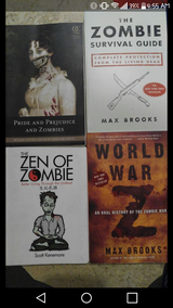 Zombie books in Cleveland, Texas