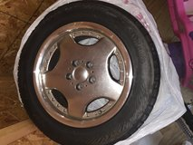 Set of Yokohama tires with rims 16 inch-read post before contacting in Plainfield, Illinois