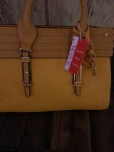Yellow Sorrentino fashion purse-new in Orland Park, Illinois