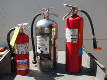 3 Fire Extinguishers Wet Chemical in Conroe, Texas