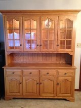 Oak Hutch - Curio Cabinet in Glendale Heights, Illinois