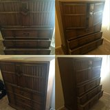 Walnut dresser in San Clemente, California