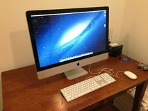 "2009 Apple iMac A1312 27"" Desktop with Time Capsule 1TB Hard Drive in Hinesville, Georgia"