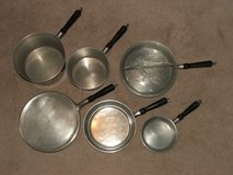 Vintage Household Institute Cast Aluminum 7 Piece Pan Set in Oswego, Illinois