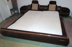 Kingsize Velour Bed Very ... in Ramstein, Germany