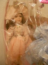 Vintage Easter Basket with Collectable Porcelain Doll in Joliet, Illinois