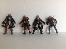 PIRATES OF THE CARRIBEAN ACTION FIGURES 4-PACK in Lockport, Illinois
