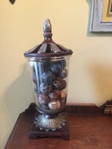 Large vase with filler in Conroe, Texas