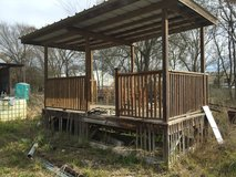Front Porch for Mobile Home in Conroe, Texas