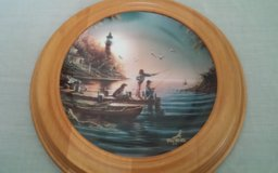 From Sea to Shining Sea Framed Collectors Plate in The Woodlands, Texas