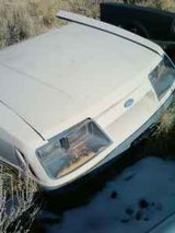 1986 Mustang front end in Alamogordo, New Mexico