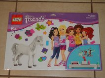 Lego Friends Wall Stickers 4 Sheets Brand New in Package in Vacaville, California