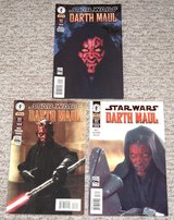 Extremely RARE Star Wars Darth Maul Comic Books Lot of 3 1, 2, and 3.  2000 in Shorewood, Illinois