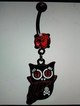 vampire owl belly ring in Camp Lejeune, North Carolina