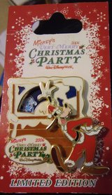 Collectors Limited Edition Disneys Very Merry Christmas Party 3-D slider pin '06 in Bolingbrook, Illinois