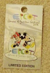 Collectors Limited Edition EPCOT Flower & Garden Festival 2006 pin new on card in Bolingbrook, Illinois