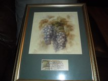 """Picture of grapes w/scripture """"I am the vine, You are the Branches"""" in Cleveland, Texas"""