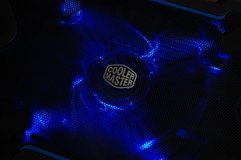 200mm Coolermaster case fan with blue LED in Ramstein, Germany