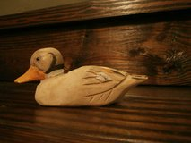 Small vintage hand carved duck decoy in Houston, Texas