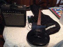 Hondo II  & fender AMP x-15 in Cherry Point, North Carolina