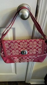 Hot Pink Coach Purse in Clarksville, Tennessee
