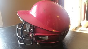 Girls Softball Helmet in Plainfield, Illinois