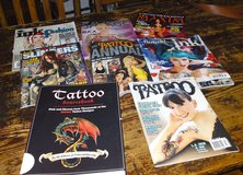 Tattoo Sourcebook by Tattoofinder.com (2008) 516 pages and Tattoo Magazines in Camp Lejeune, North Carolina