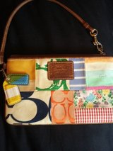 COACH Patchwork Wristlet in Fairfield, California
